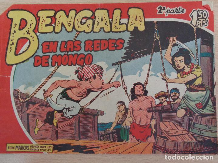 BENGALA Nº II-9. EN LAS REDES DE MONGO. EDITA MAGA (Tebeos y Comics - Maga - Bengala)
