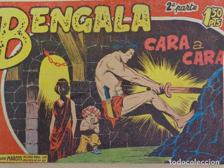 BENGALA Nº II-24. CARA A CARA. EDITA MAGA (Tebeos y Comics - Maga - Bengala)