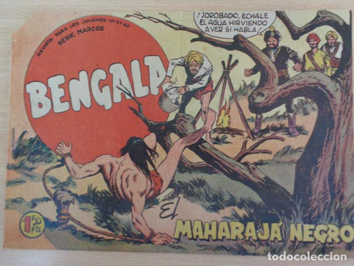 BENGALA Nº 38. EL MAHARAJÁ NEGRO. EDITA MAGA (Tebeos y Comics - Maga - Bengala)