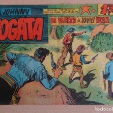 Tebeos: JOHNNY FOGATA NÚM. 9. LA VUELTA DE JOHNNY FOGATA. ORIGINAL. EDITA MAGA. BUEN ESTADO. Lote 207004546