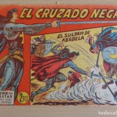 Giornalini: EL CRUZADO NEGRO Nº 34. EL SULTÁN DE KERBELA. EDITA MAGA. Lote 207008505