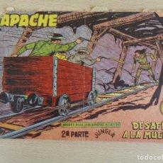 Tebeos: APACHE Nº II-65. DESAFÍO A LA MUERTE. EDITA MAGA. Lote 207011246