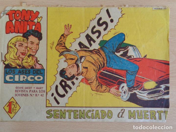 TONY Y ANITA Nº 51. SENTENCIADO A MUERTE. EDITA MAGA (Tebeos y Comics - Maga - Tony y Anita)