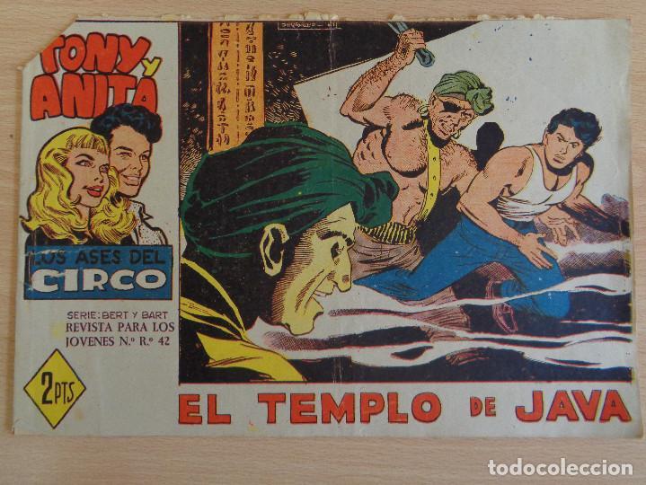 TONY Y ANITA Nº 53. EL TEMPLO DE JAVA. EDITA MAGA (Tebeos y Comics - Maga - Tony y Anita)