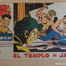 Tebeos: TONY Y ANITA Nº 53. EL TEMPLO DE JAVA. EDITA MAGA. Lote 207011933