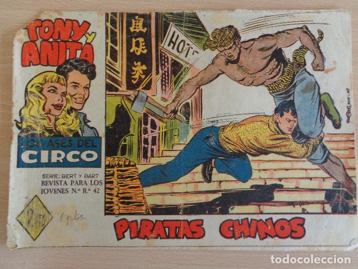 TONY Y ANITA Nº 55. PIRATAS CHINOS. EDITA MAGA (Tebeos y Comics - Maga - Tony y Anita)