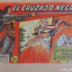 Tebeos: EL CRUZADO NEGRO Nº 31. CERCADOS POR EL FUEGO. EDITA MAGA. Lote 207013278