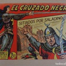 Tebeos: EL CRUZADO NEGRO Nº 17. SITIADOS POR SALADINO. EDITA MAGA. BUEN ESTADO. Lote 207013456