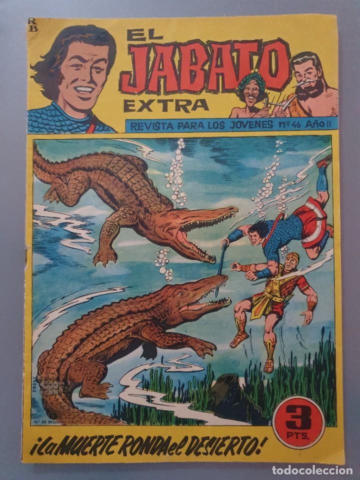 EL JABATO 46 EXTRA AÑO II ORIGINAL AÑO 1962 (Tebeos y Comics - Maga - Otros)