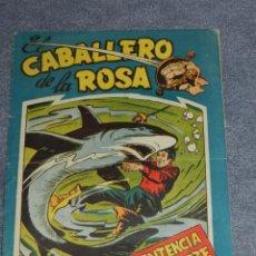 Tebeos: (M) EL CABALLERO DE LA ROSA NUM. 4 EDT MAGA, SEÑALES DE USO. Lote 207714606