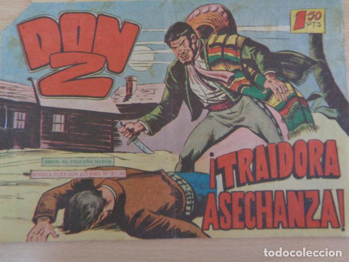 DON Z Nº 24. ORIGINAL. TRAIDORA ASECHANZA. EDITA MAGA (Tebeos y Comics - Maga - Don Z)