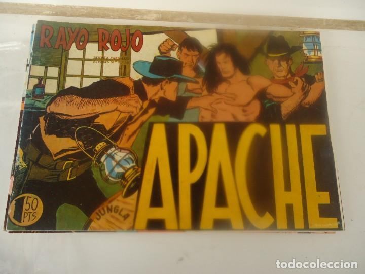APACHE, RAYO ROJO (Tebeos y Comics - Maga - Apache)