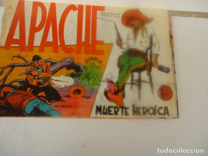 APACHE, MUERTE HEROICA (Tebeos y Comics - Maga - Apache)