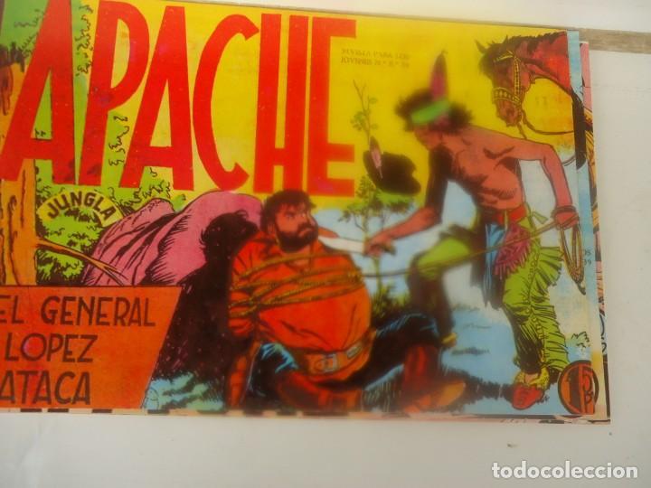 APACHE, EL GENERAL LOPEZ ATACA (Tebeos y Comics - Maga - Apache)