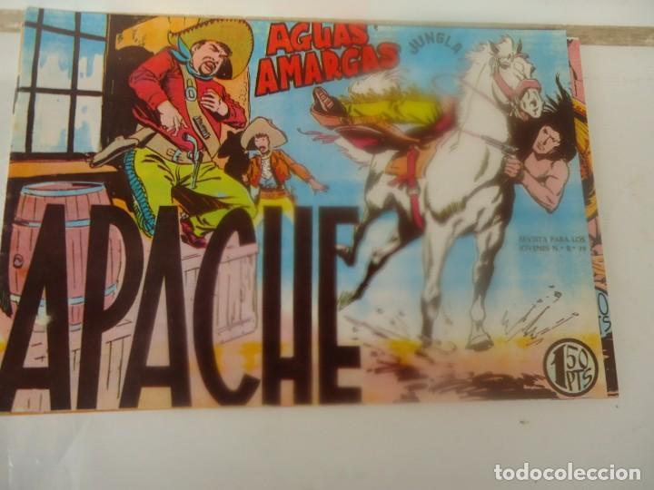 APACHE, AGUAS AMARGAS (Tebeos y Comics - Maga - Apache)