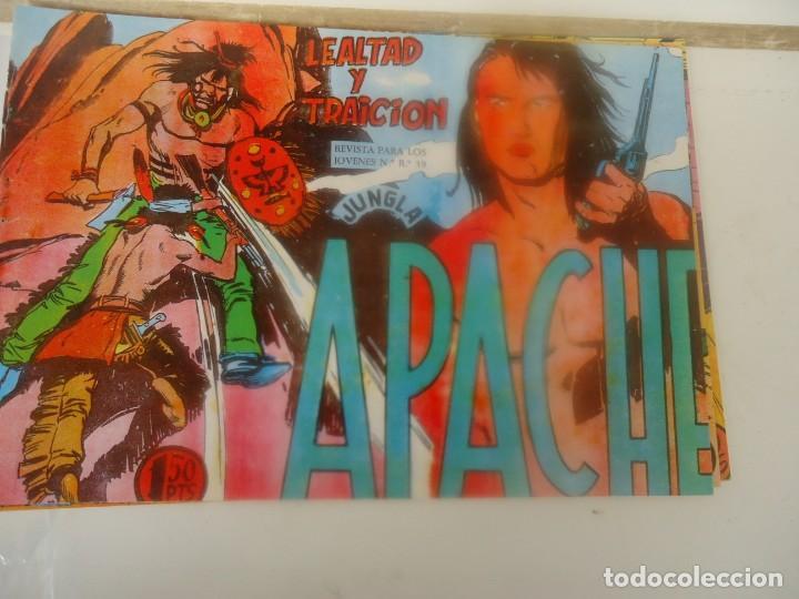 APACHE, LEALTAD Y TRAICION (Tebeos y Comics - Maga - Apache)