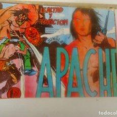 Tebeos: APACHE, LEALTAD Y TRAICION. Lote 207968765