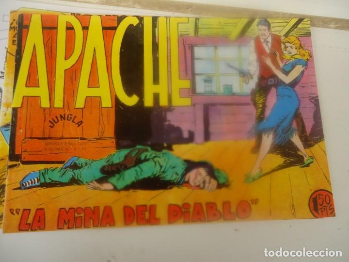 APACHE, LA MINA DEL DIABLO (Tebeos y Comics - Maga - Apache)