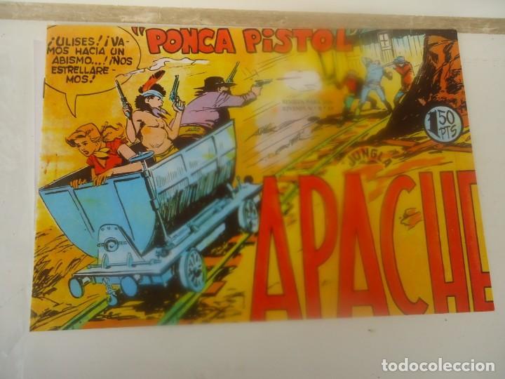 APACHE, PONCA PISTOL (Tebeos y Comics - Maga - Apache)