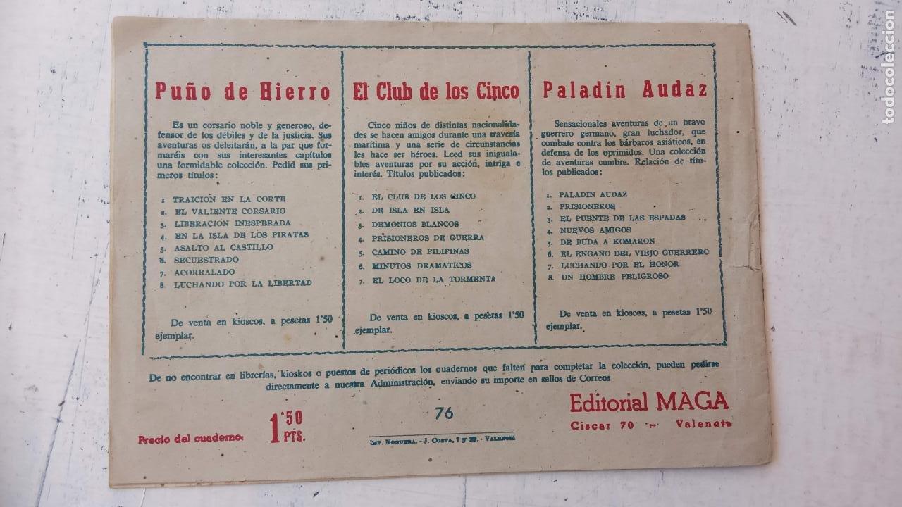 Tebeos: DAN BARRY EL TERREMOTO ORIGINAL Nº 76 ÚLTIMO - Foto 2 - 209629618
