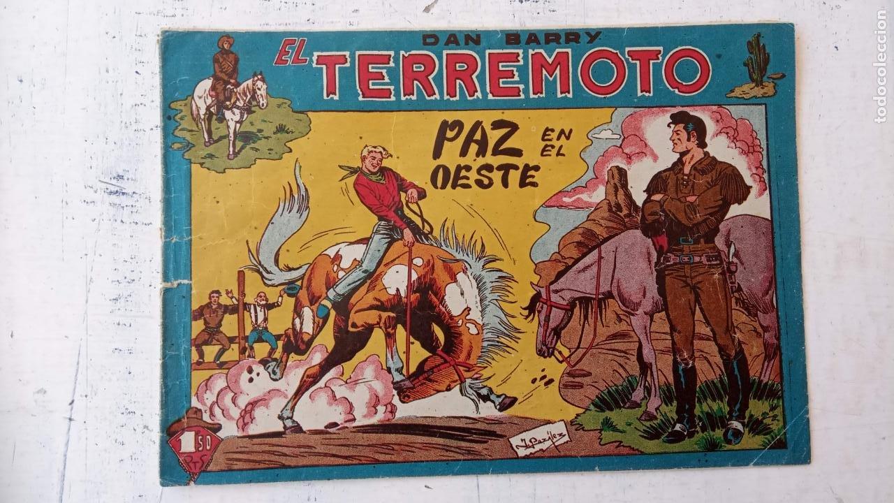 DAN BARRY EL TERREMOTO ORIGINAL Nº 76 ÚLTIMO (Tebeos y Comics - Maga - Dan Barry)
