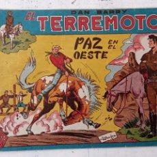 Tebeos: DAN BARRY EL TERREMOTO ORIGINAL Nº 76 ÚLTIMO. Lote 209629618