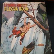 Tebeos: FLECHA ROJA Nº 58, CON SUPLEMENTO DE EL GRAN CAZADOR. Lote 209658430