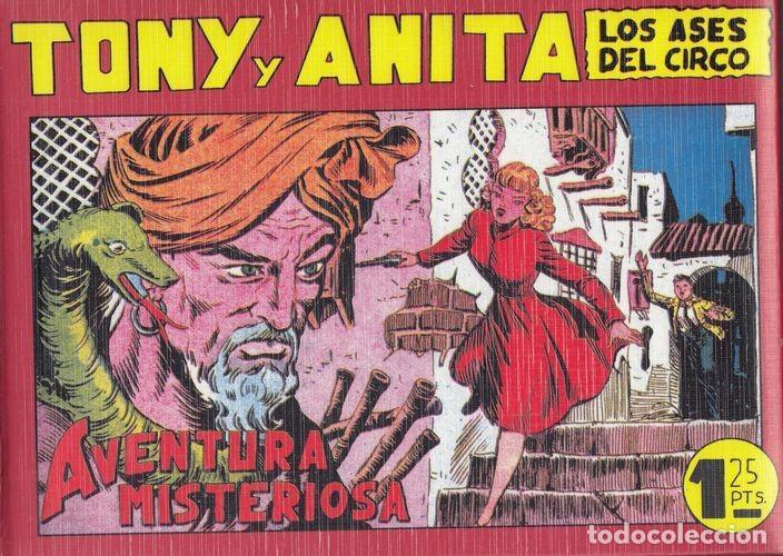 TONY Y ANITA - TOMO 4 (IV) - NUMEROS 79 AL 102 - REEDICION MAGA (Tebeos y Comics - Maga - Tony y Anita)