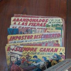 Giornalini: 35 NÚMEROS DE CON EL CLUB DE LOS CINCO. Lote 209756987