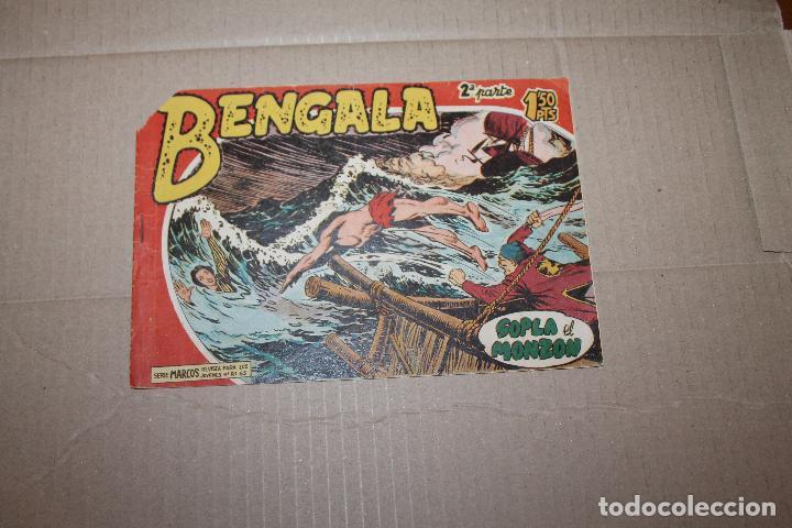BENGALA 2ª PARTE Nº 4, EDITORIAL MAGA (Tebeos y Comics - Maga - Bengala)