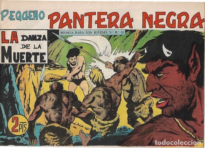 PEQUEÑO PANTERA NEGRA Nº 323 ORIGINAL EN MUY BUEN ESTADO.-LEER TODO (Tebeos y Comics - Maga - Pantera Negra)
