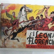 Tebeos: EL LEON DE FLORENCIA COMPLETO. Lote 210107565
