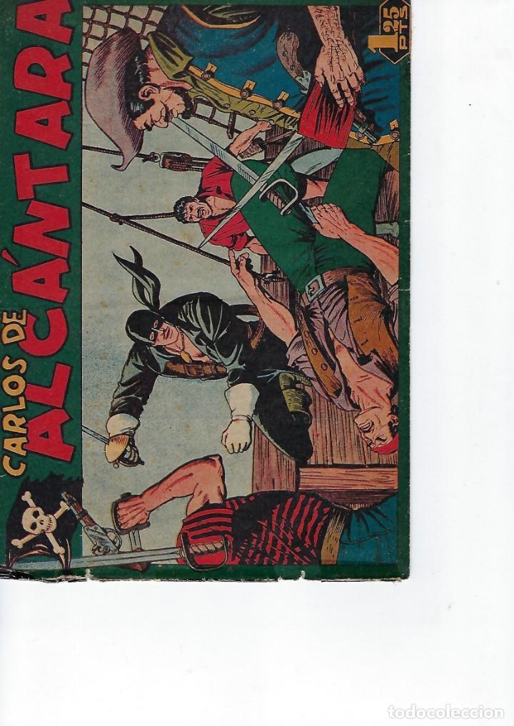 HISTORIA COMPLETA - CARLOS DE ALCÁNTARA - Nº 1 - 37 - AÑO 1955. ORIGINAL *** EDITORIAL MAGA *** (Tebeos y Comics - Maga - Otros)
