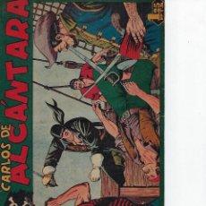 Tebeos: HISTORIA COMPLETA - CARLOS DE ALCÁNTARA - Nº 1 - 37 - AÑO 1955. ORIGINAL *** EDITORIAL MAGA ***. Lote 210185161