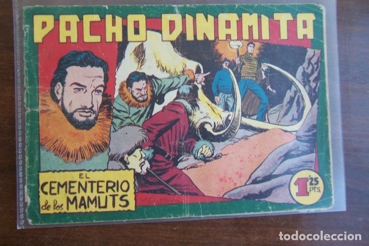 MAGA,- PACHO DINAMITA Nº 119 DAÑADO (Tebeos y Comics - Maga - Pacho Dinamita)