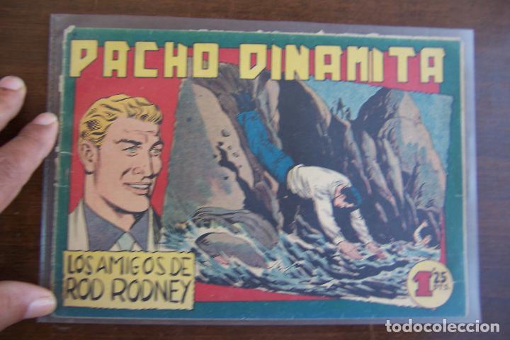 MAGA,- PACHO DINAMITA Nº 125 LOMO CON GRAPA (Tebeos y Comics - Maga - Pacho Dinamita)