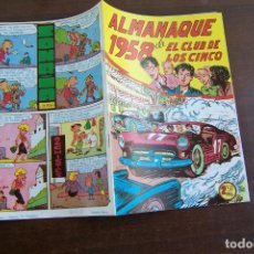 Tebeos: MAGA EL CLUB DE LOS CINCO Nº ALMANAQUE EN FACSÍMIL. Lote 210251408