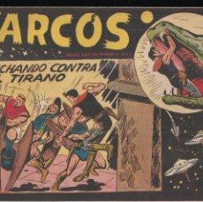 Tebeos: MARCOS Nº 13: LUCHANDO CONTRA EL TIRANO. Lote 210445900
