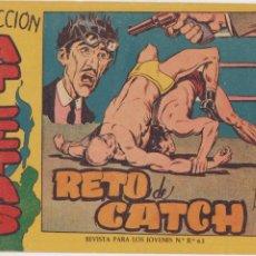 Tebeos: COLECCIÓN ATLETAS Nº 4. MAGA 1958. LOTE DE 2 EJEMPLARES SIN ABRIR. Lote 210646879