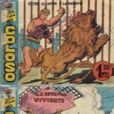 Tebeos: EL COLOSO 24 COMICS Y EL PRINCIPE DE RODAS 25 COMICS SE VENDEN SUELTOS,EDITA MAGA 1960. Lote 211450175