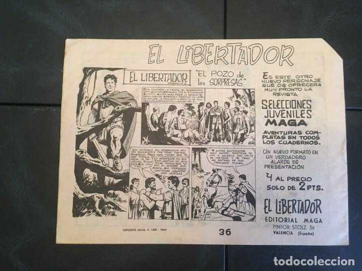 Tebeos: comic narraciones y cuentos maga,nº 36 serie coraza de castilla de editorial maga - Foto 4 - 212163700