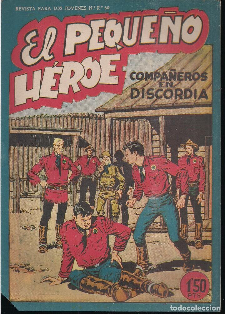EL PEQUEÑO HEROE Nº 33: COMPAÑEROS EN DISCORDIA (Tebeos y Comics - Maga - Pequeño Héroe)