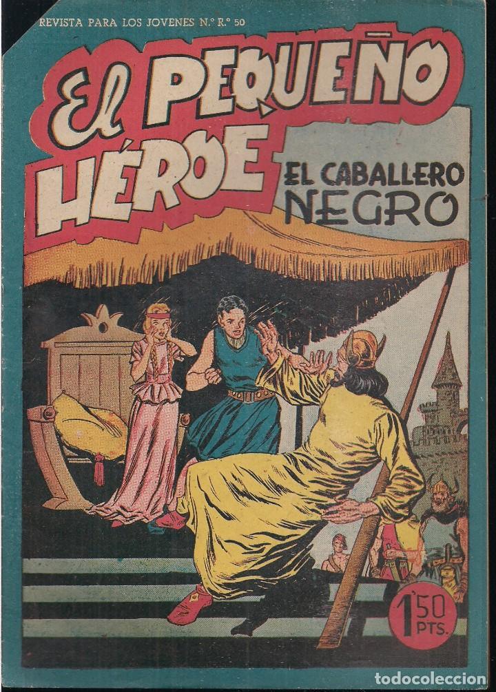 EL PEQUEÑO HEROE Nº 37: EL CABALLERO NEGRO (Tebeos y Comics - Maga - Pequeño Héroe)