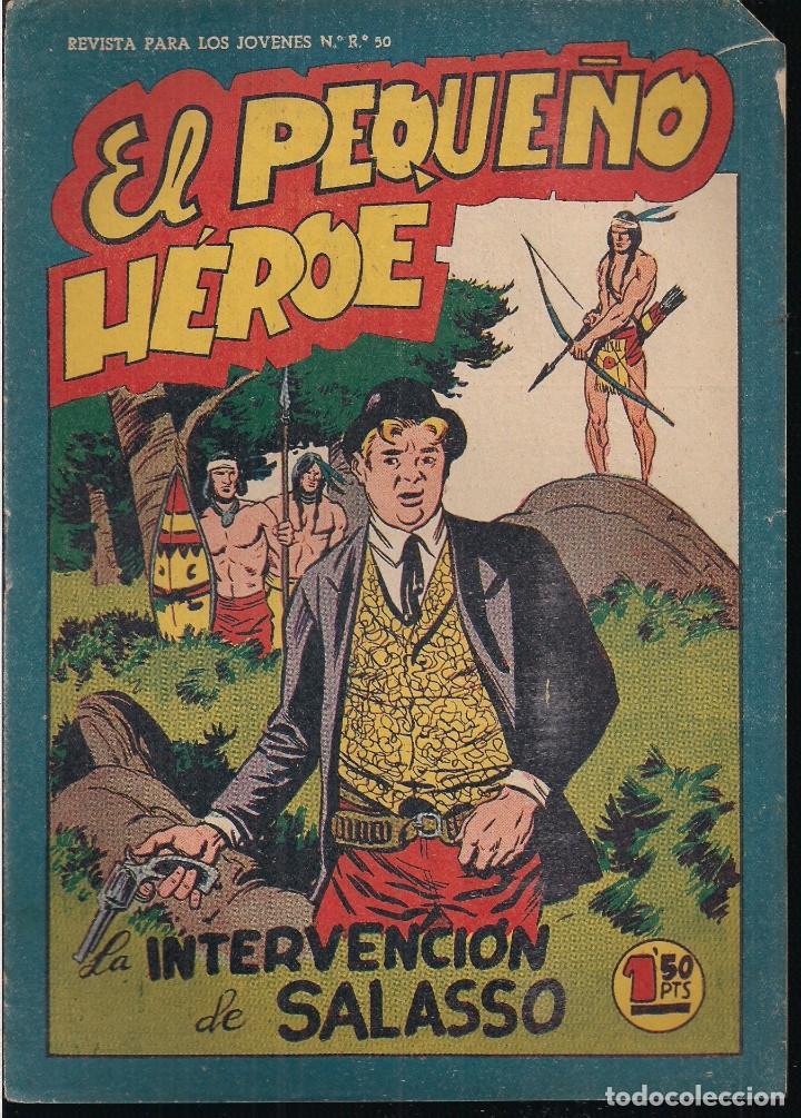 EL PEQUEÑO HEROE Nº 61: LA INTERVENCION DE SALASSO (Tebeos y Comics - Maga - Pequeño Héroe)