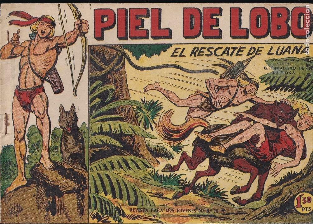 PIEL DE LOBO Nº 5: EL RESCATE DE LUANA (Tebeos y Comics - Maga - Piel de Lobo)