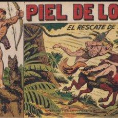 Tebeos: PIEL DE LOBO Nº 5: EL RESCATE DE LUANA. Lote 212611007