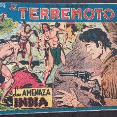 Livros de Banda Desenhada: LA AMENAZA INDIA Nº33. Lote 212827765