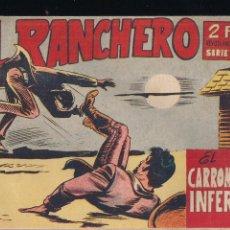 Tebeos: EL RANCHERO Nº 14: EL CARROMATO INFERNAL. Lote 212892513