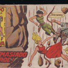 Tebeos: EL RAYO DE LA SELVA Nº 31: DEMASIADO TARDE. Lote 212892986