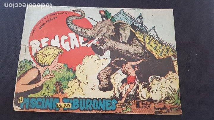 LA PISCINA DE LOS TIBURONES Nº50 (Tebeos y Comics - Maga - Bengala)